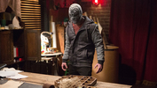 """<p>Josh Fried '06 looks a little menacing in his appearance on """"Grimm.""""</p>"""