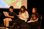 """<p>Students perform a Readers' Theatre of scenes from """"The Wind in the Willows of Bucks County.""""</p>"""