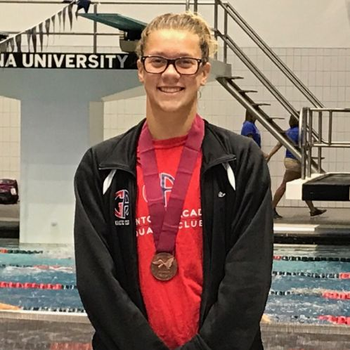 Swimming:  Emma Atkinson '20 Selected to Participate at 2017 USA Swimming National Select Camp