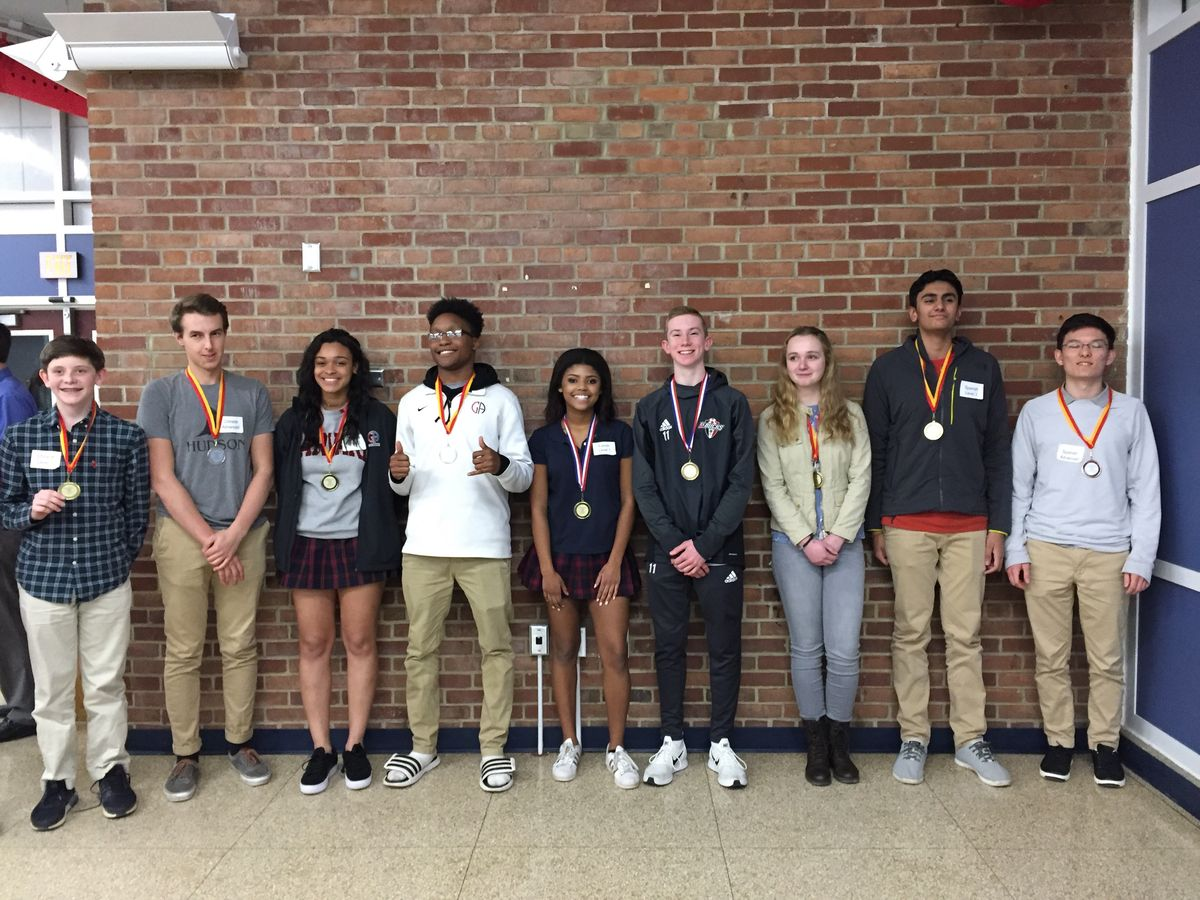 Modern Language Students Score Big at County Contest