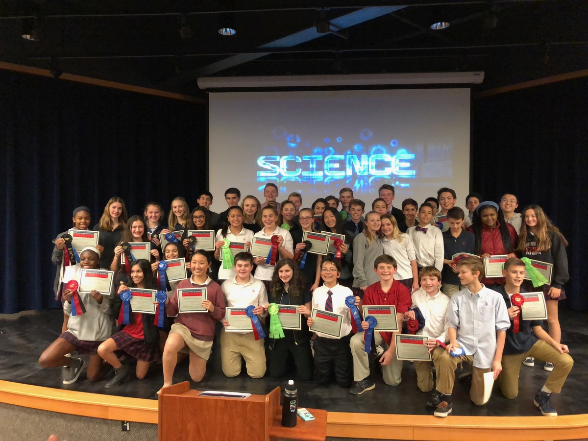 Middle School Science Researchers Stand Out at Montco Science Fair