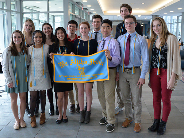 GA Honors Mu Alpha Theta Inductees