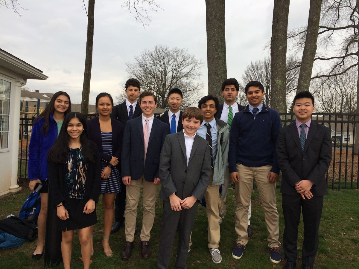 GA Science Research Students Rise to the Occassion at Delaware Valley Science Fair