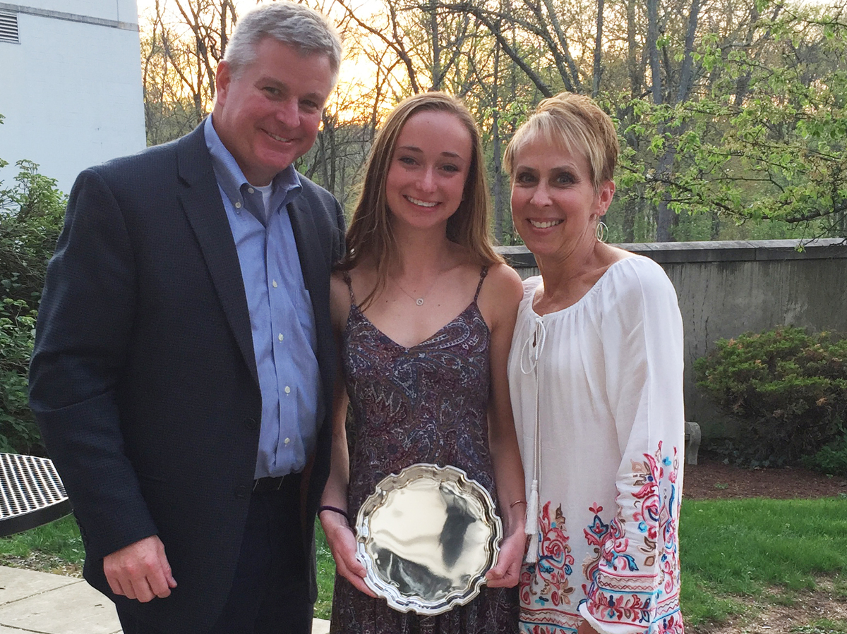 Kelsey O'Hara '18 Honored by Inter-Ac League