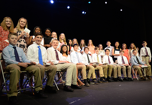 Class of 2022 Remembered at Middle School Final Assembly