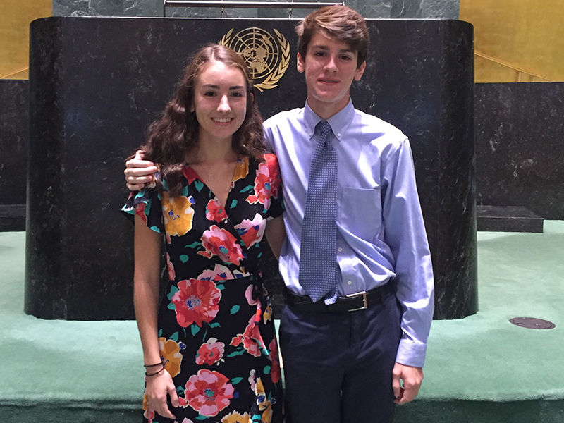 Katherine Commale '19 Speaks at UN Foundation's Global Leadership Dinner