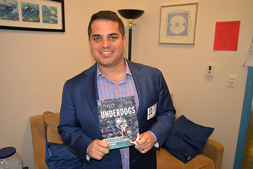 Philadelphia Inquirer Reporter Zach Berman '04 Writes Book about the Eagles' Epic Super Bowl Journey