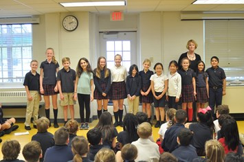 Lower School Students Win Prizes in Corson Writing Contest