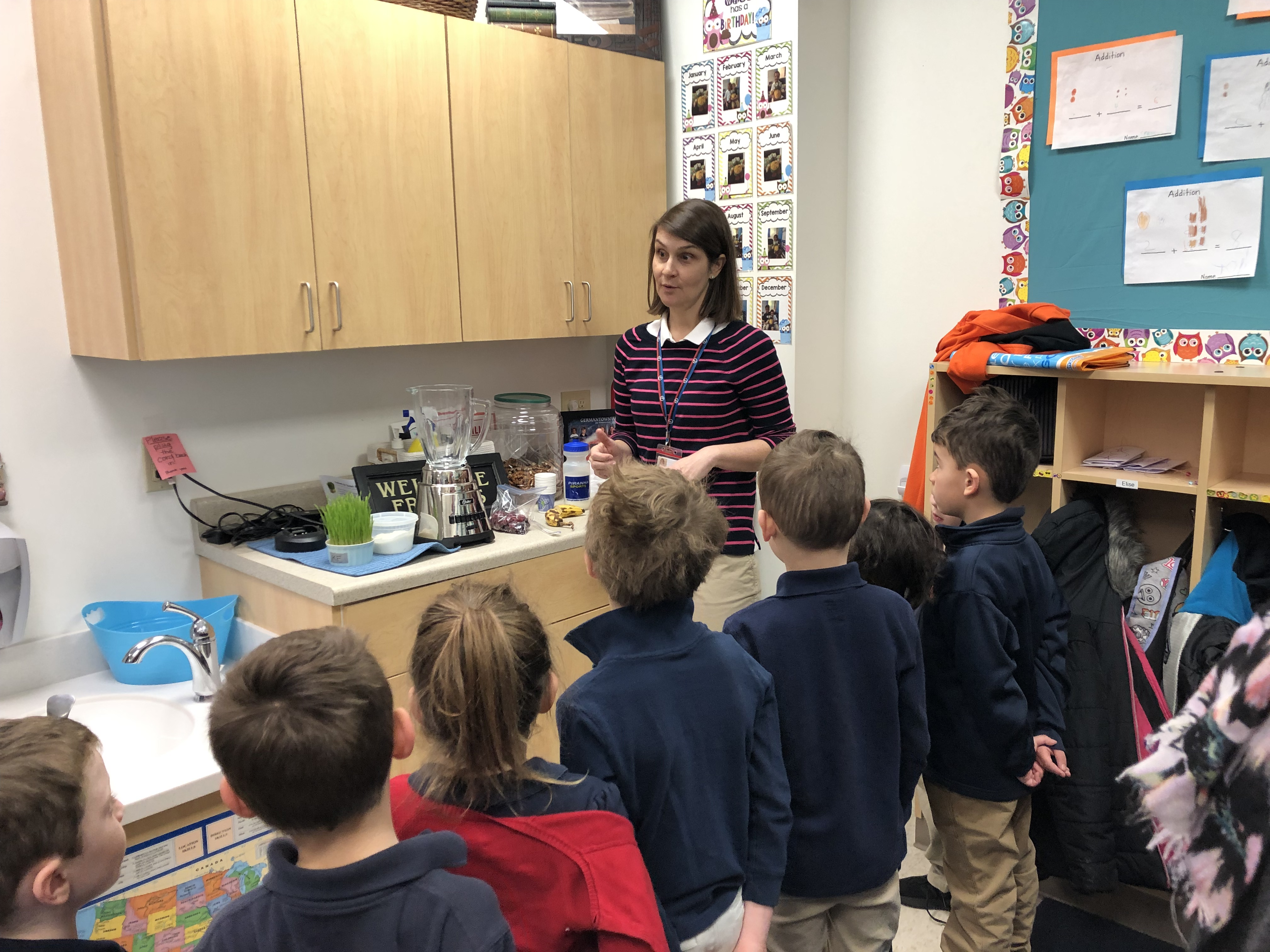 Health and Wellness in Lower School