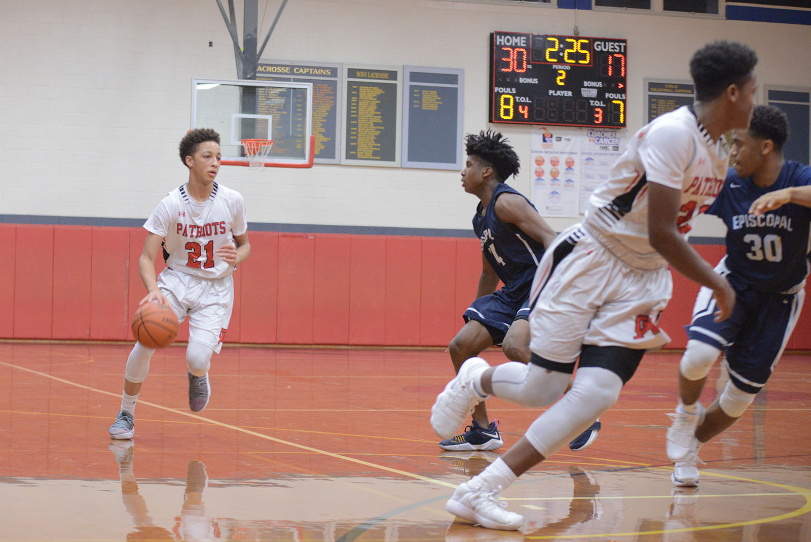 Boys Basketball: Defense is Key in Win Over Penn Charter