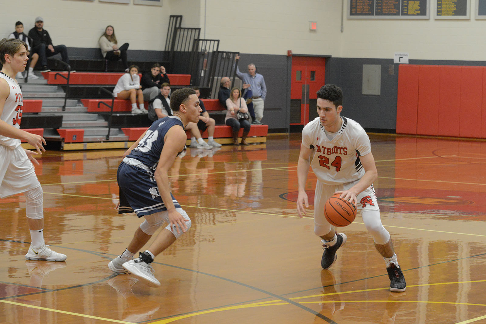 Boys Basketball: Patriots Earn Second Straight Win Against Frankford