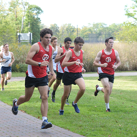Boys Cross Country: Friars Run Past GA