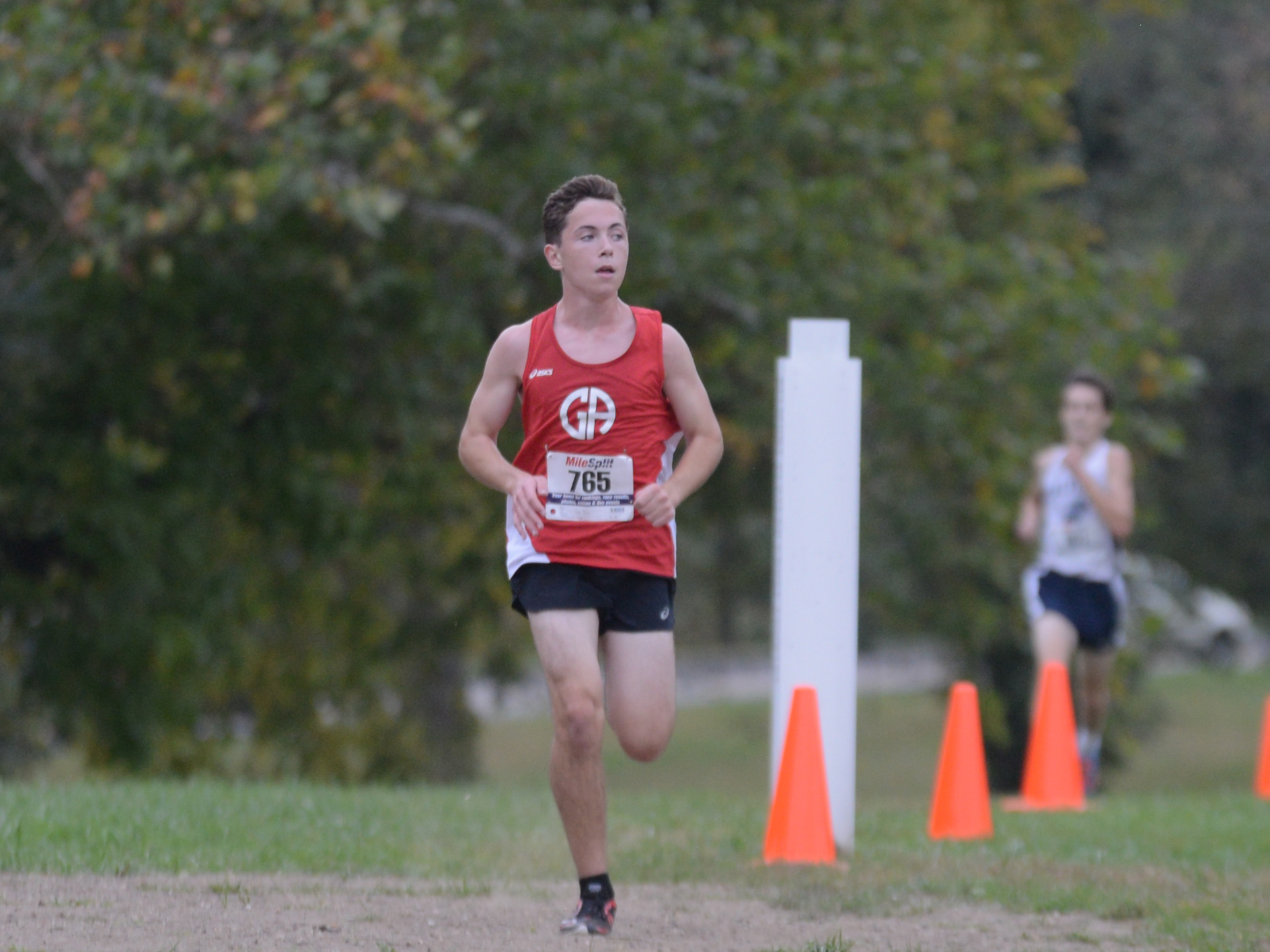 Boys Cross Country: Sandifer Shines at League Championships