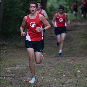 Boys Cross Country: Shorthanded Patriots Step Up To Take Down Churchmen