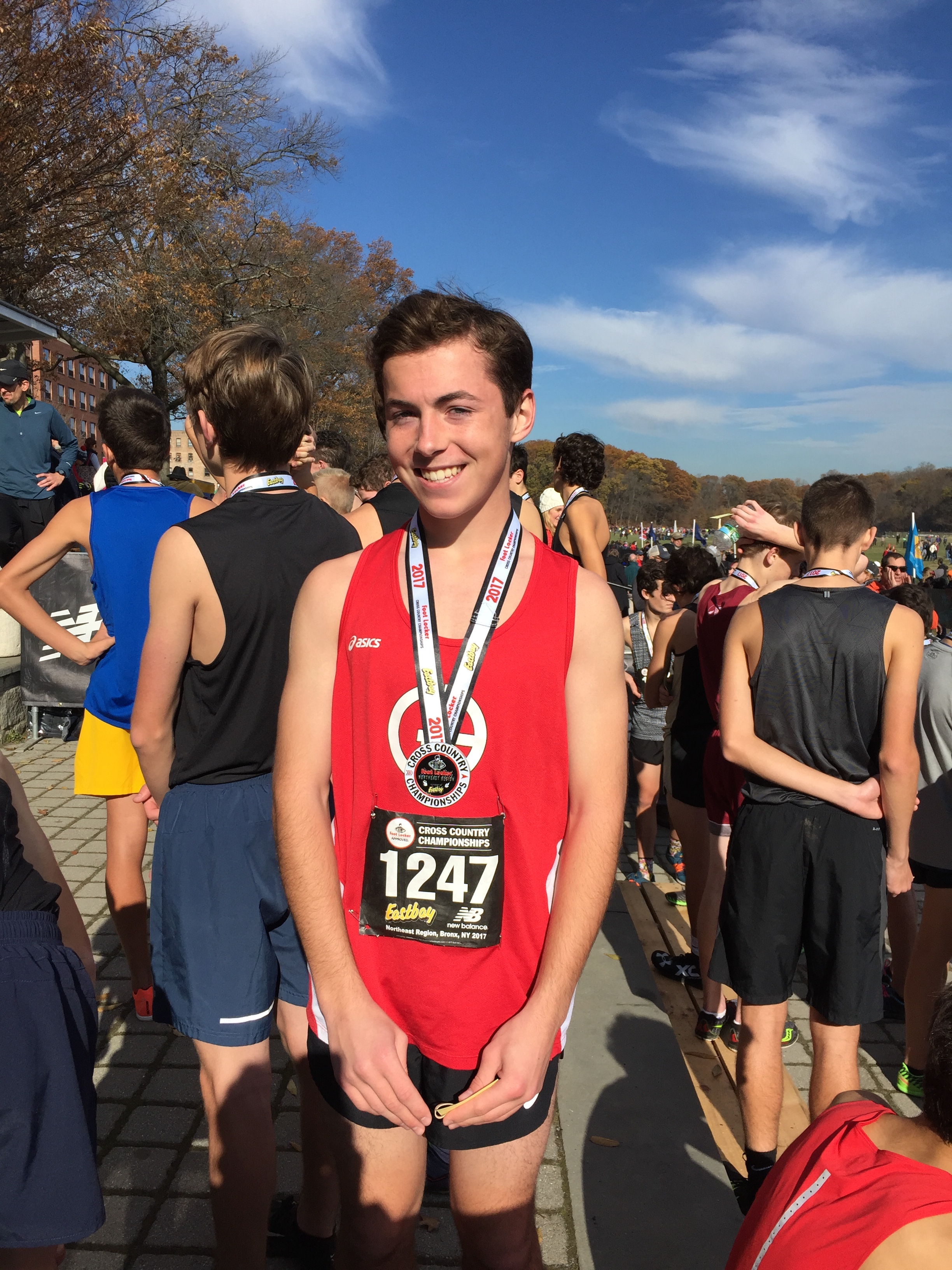 Boys Cross Country: Sandifer