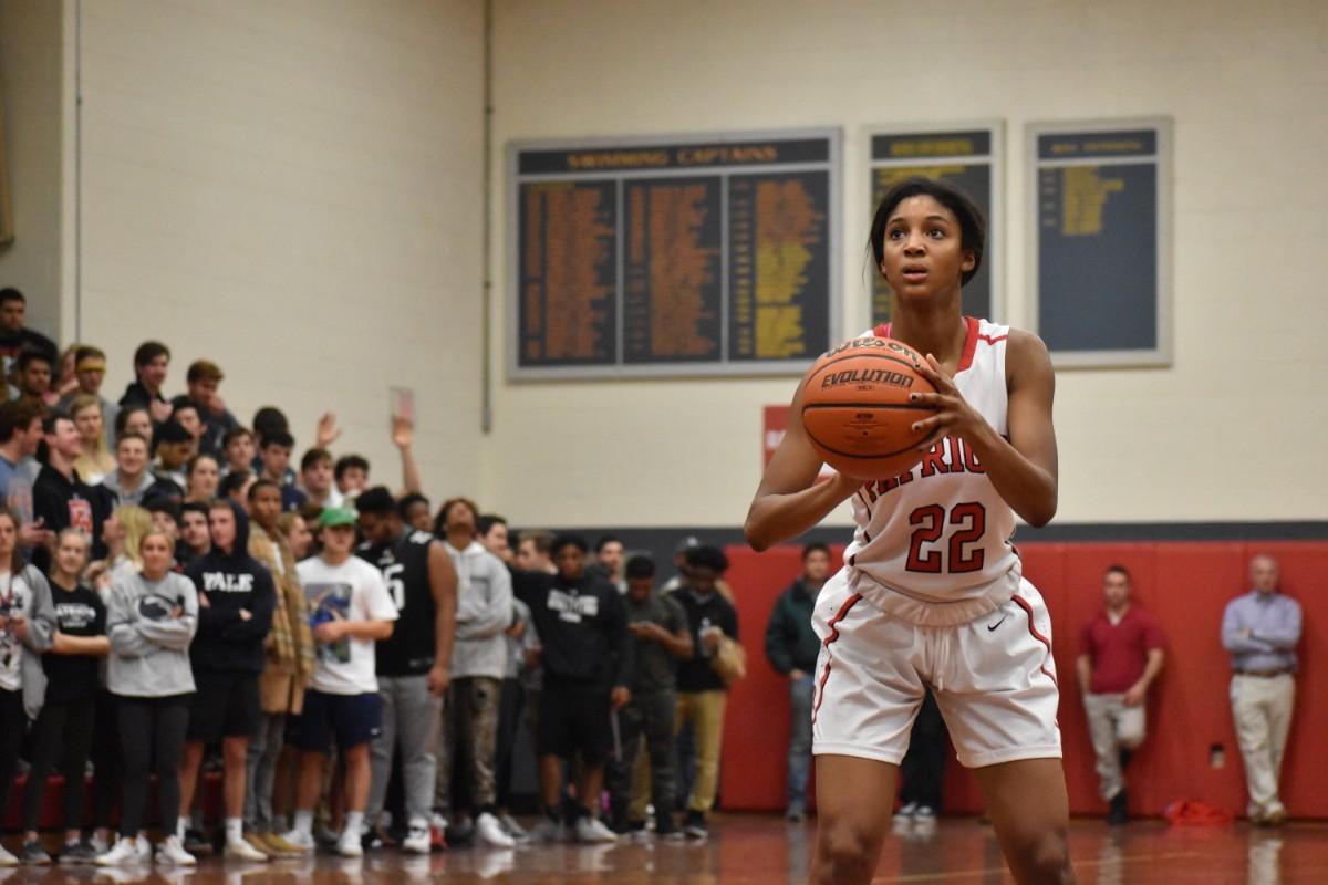 76a9f1ea120 ... Girls Basketball: Haynes' Layup Pushes GA Past AFS