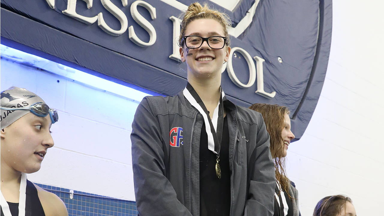 Girls Swimming and Diving: Emma Atkinson '20 Goes out on Top at 2020 Easterns