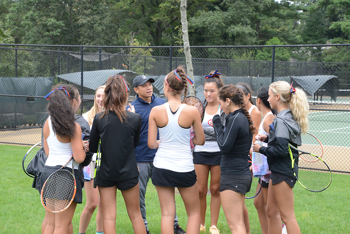 Girls Tennis: GA Sweeps SCHA