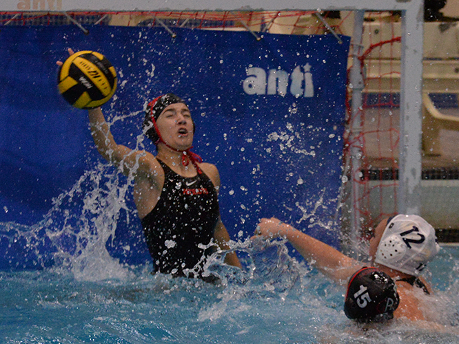 Girls Water Polo: Stauffer, Patriots Take Down Big Red