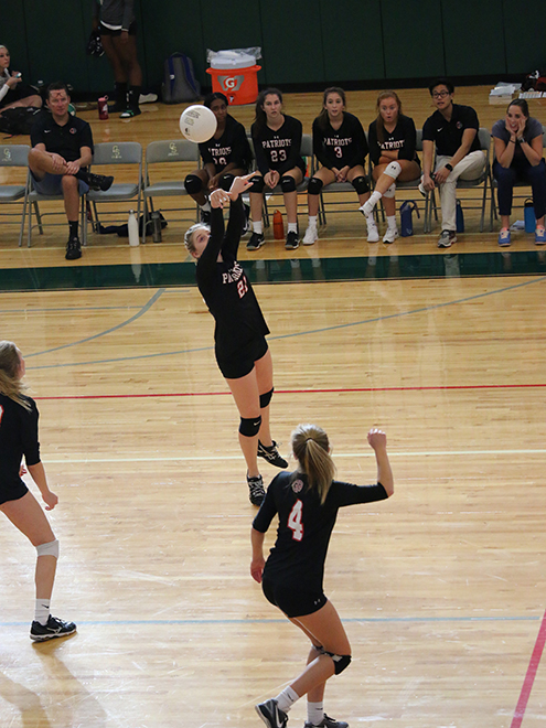 Girls Volleyball: Patriots Take Down George School For Fifth Straight Win