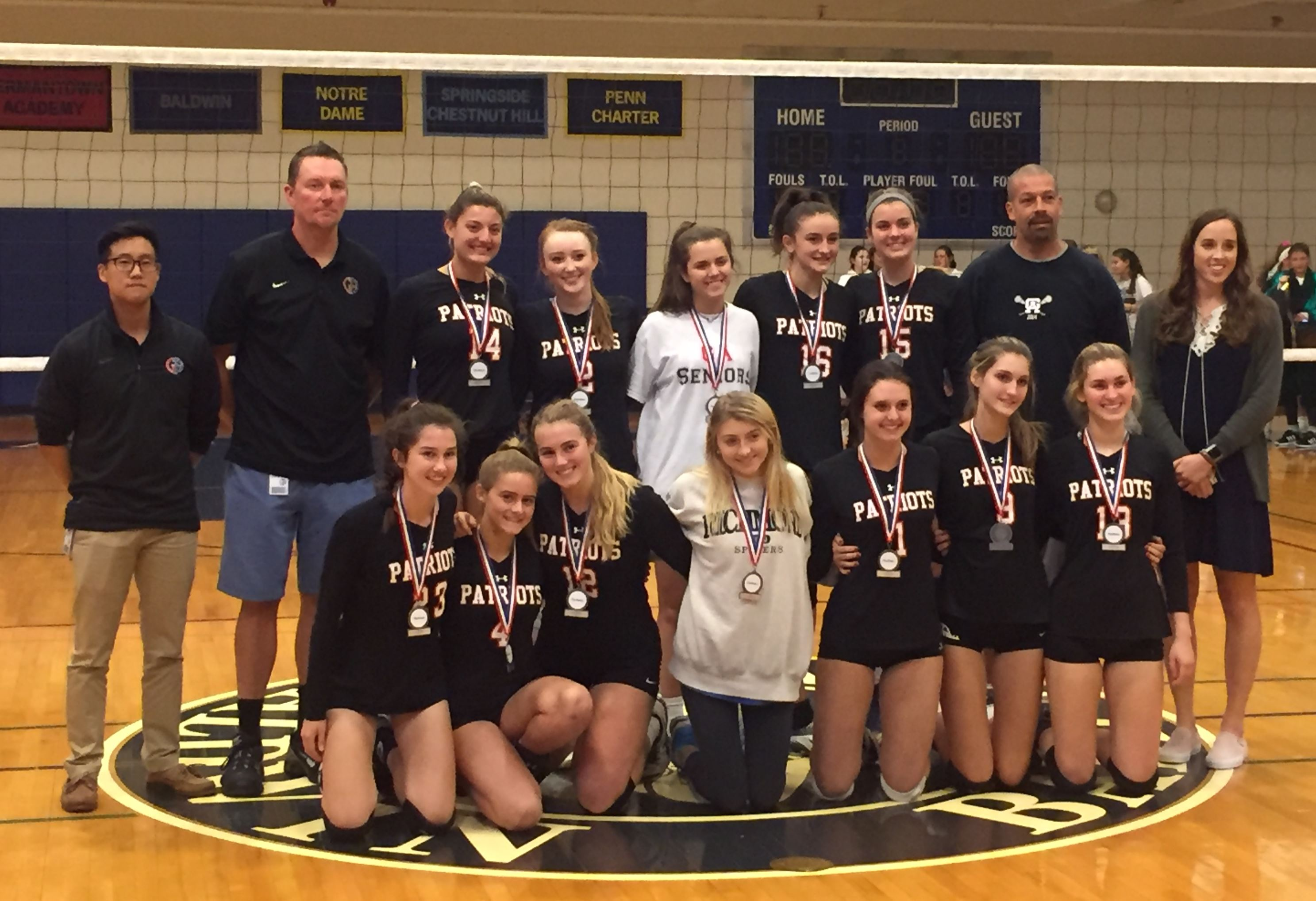 Volleyball: GA Claims Second Place in PAISAA Tournament