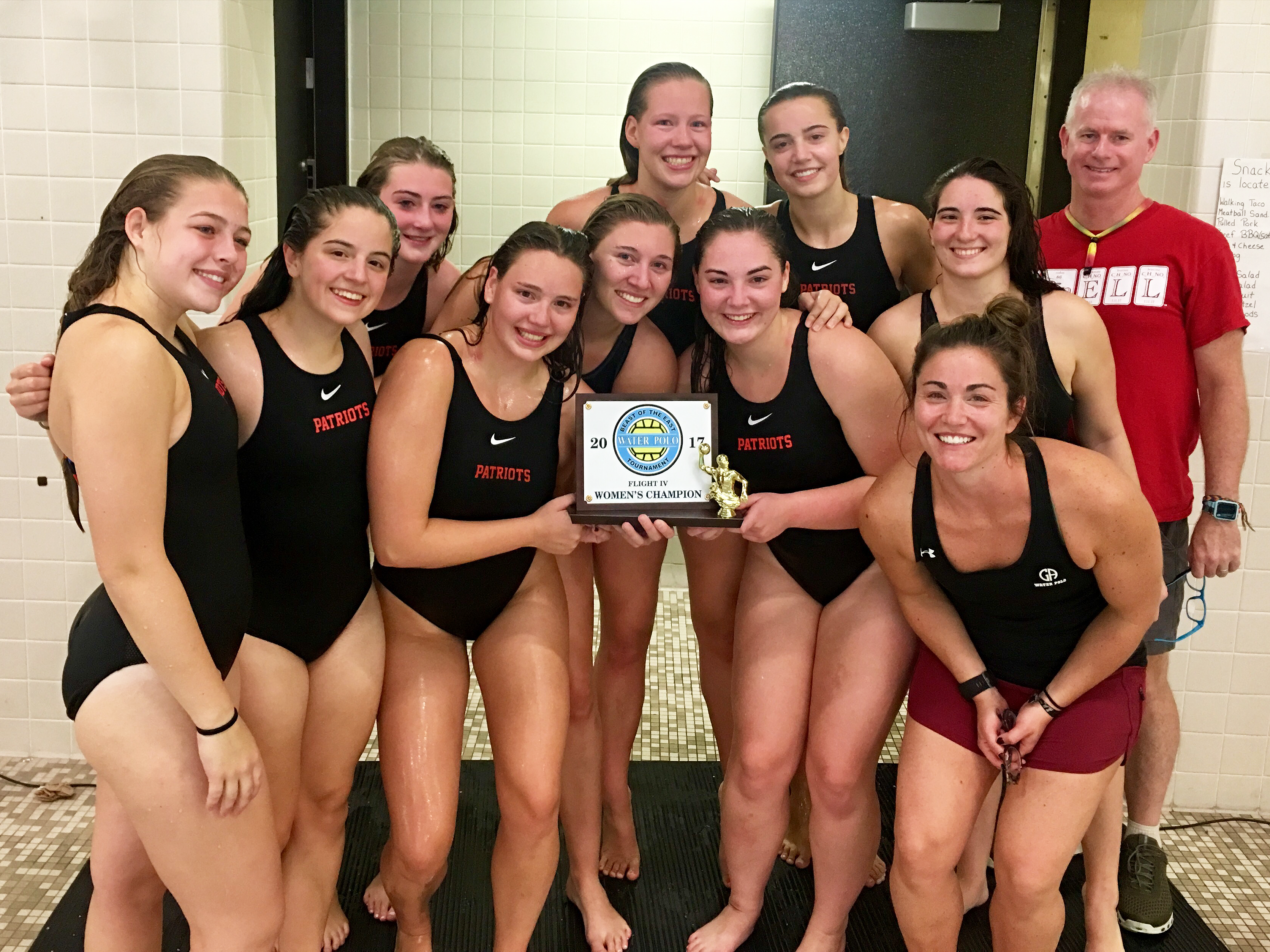Girls Water Polo: Patriots Win Beast of the East Tournament!