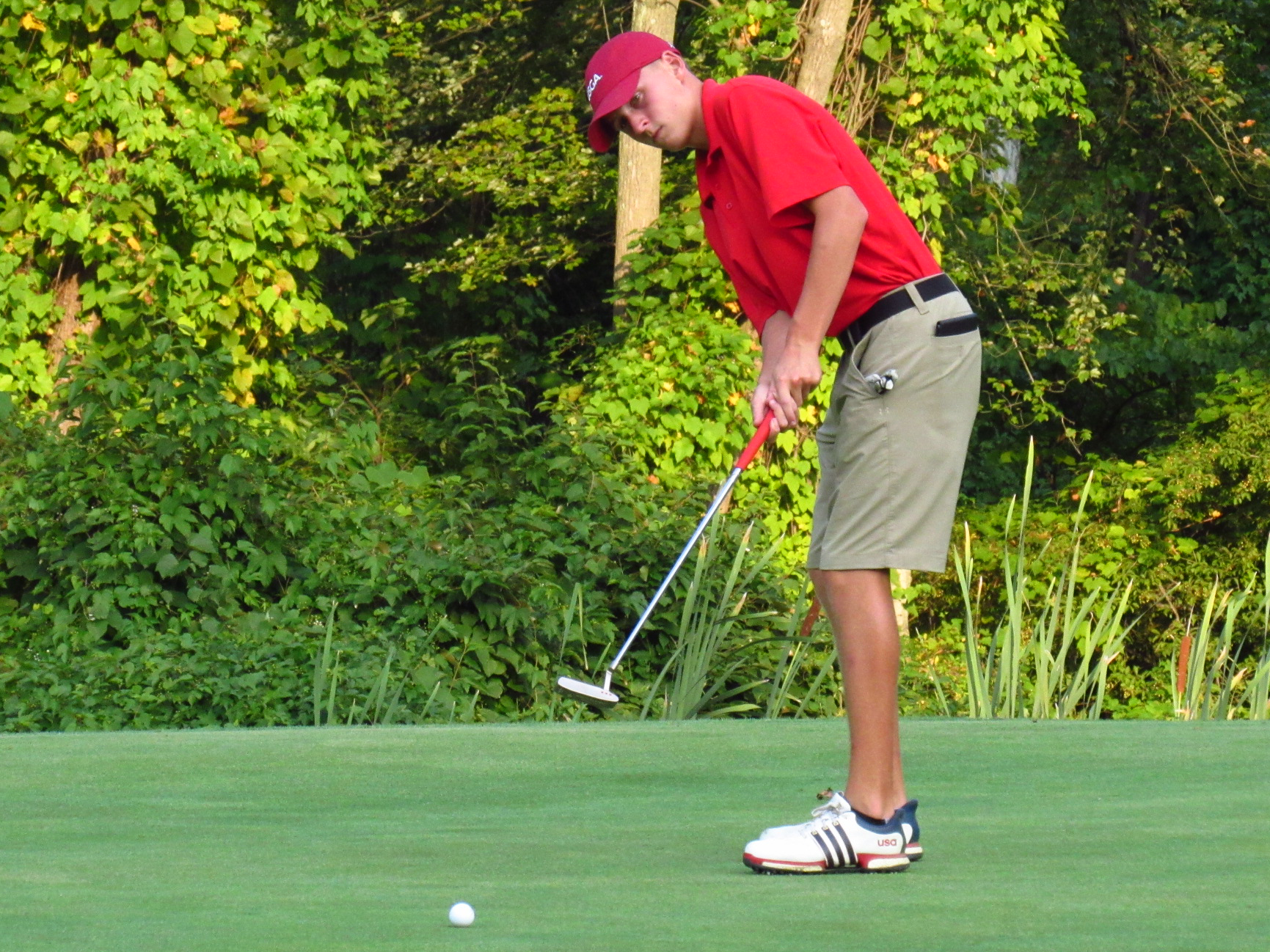 Golf: Patriots Place Fifth at Inter-Ac League Invitational, Schnur on to Individual Championships