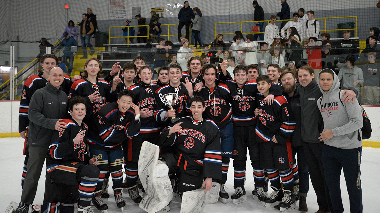 Ice Hockey:  Patriots Win IHL Title for Third Year in a Row!