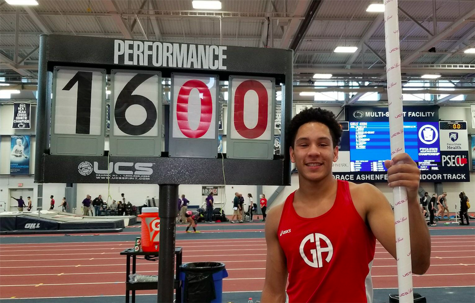 Winter Track: Caleb Johnson Sets GA Record for Pole Vault, Looks Ahead to Nationals