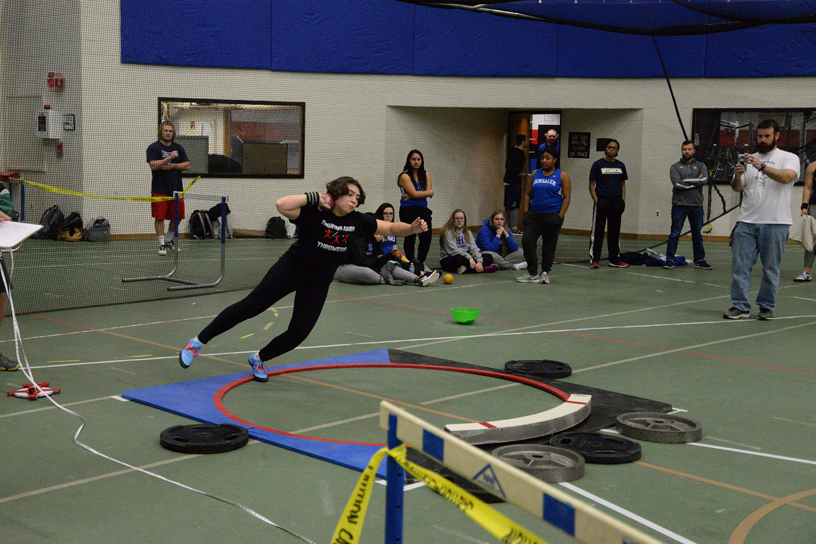 Winter Track: GA Holds Shot Put Invitational