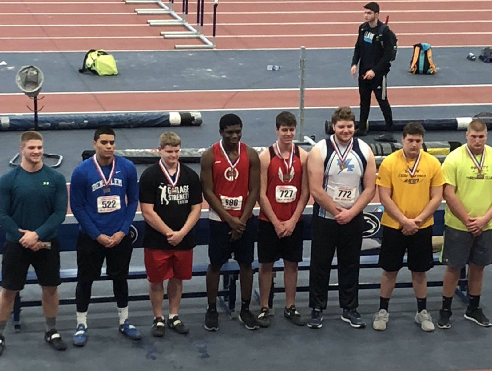Winter Track: Athletes Put Together Top Performances at PTFCA Indoor State Championships