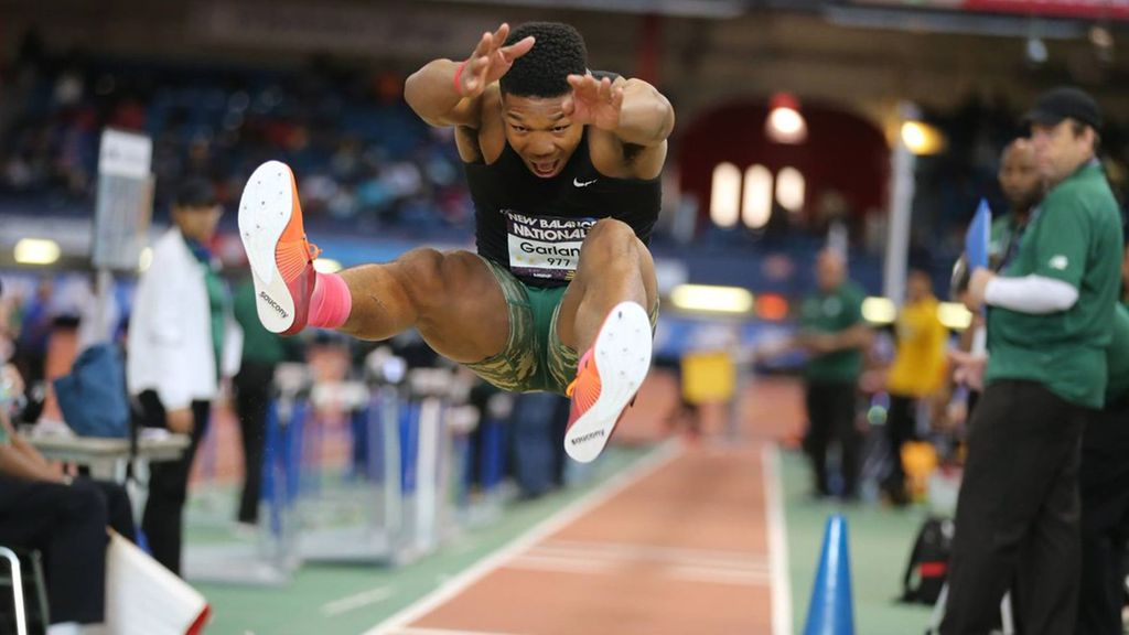 Winter Track: Kyle Garland, Caleb Johnson Place at Indoor Nationals