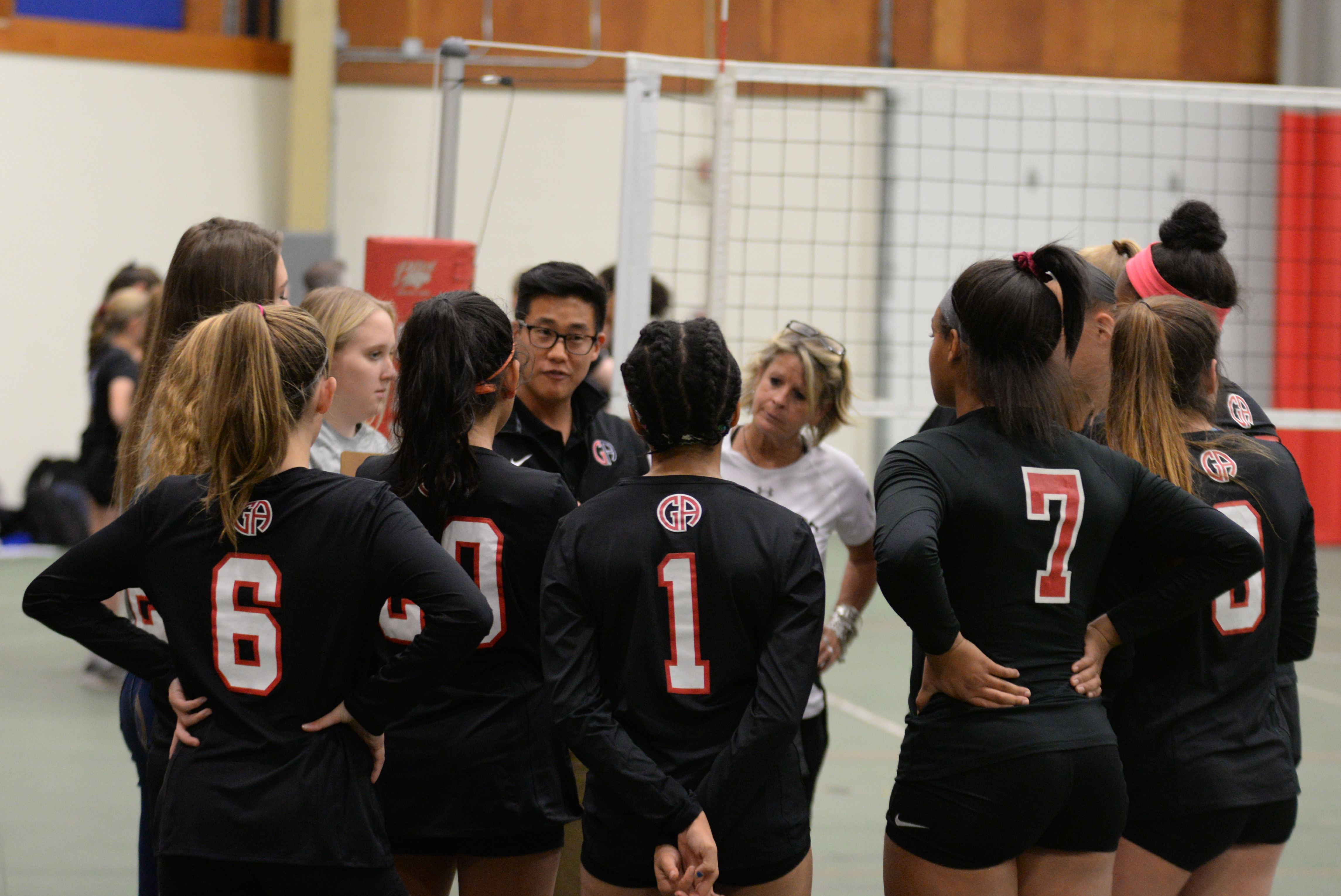 Winter Volleyball: Patriots Remain Positive Following Loss