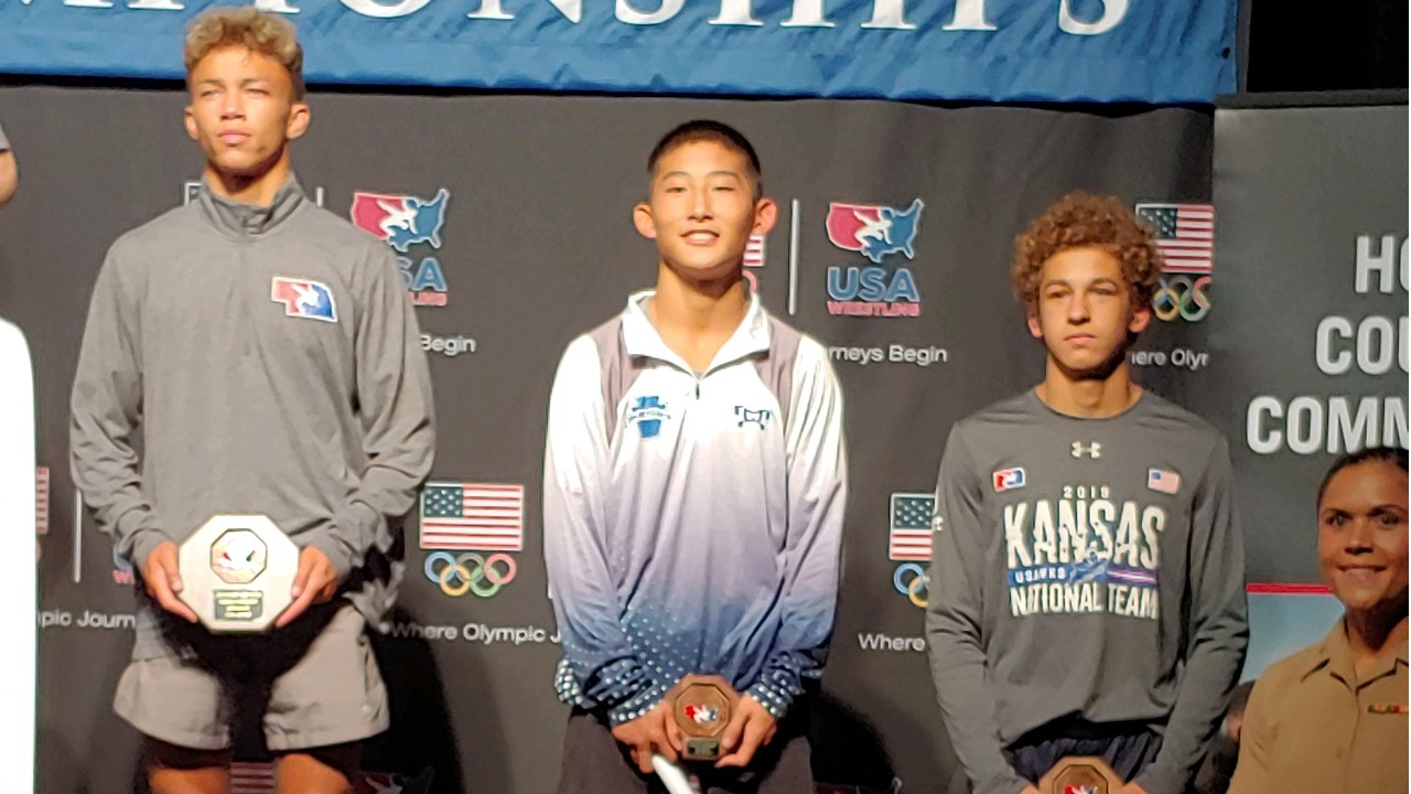 Wrestling: Chris Kim '20 Places Fifth at USMC Cadet and Junior National Championships