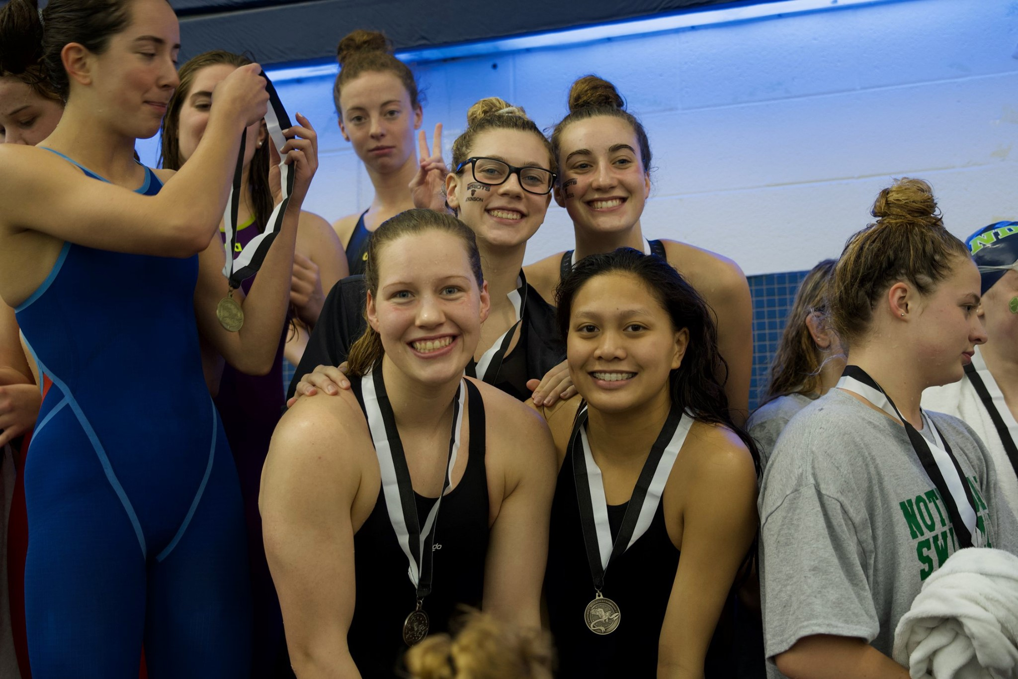 Girls Swimming Results from Easterns