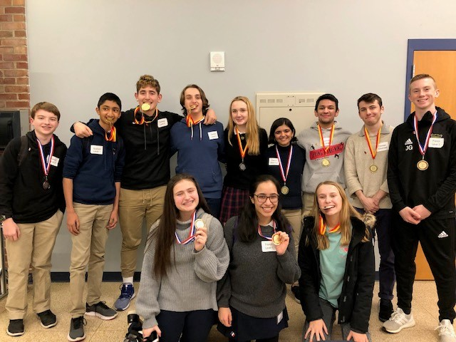 Twelve Students Earn Medals at Montco Oral Proficiency Contest