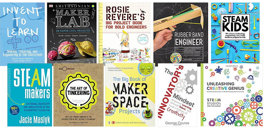 STEAM Activity Books