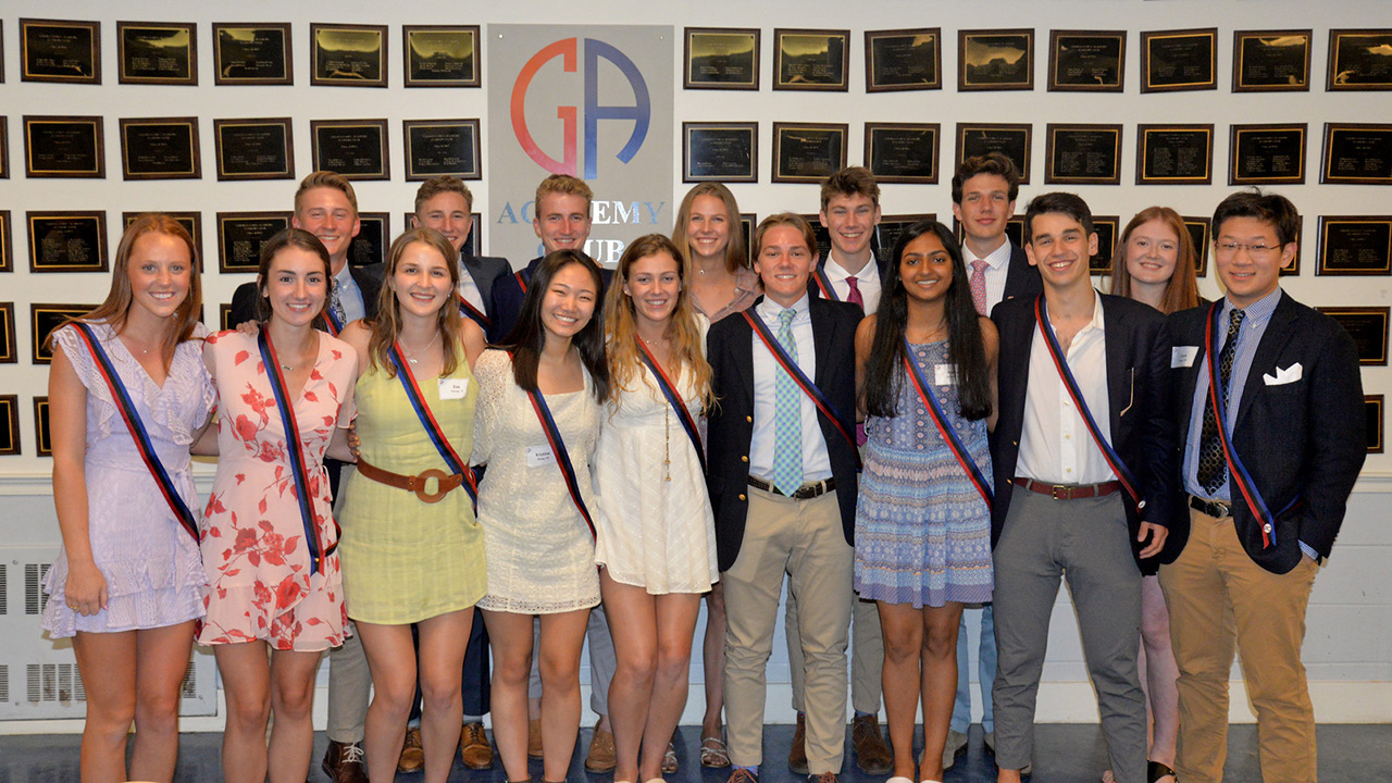 Academy Club Tradition Continues with the Class of 2019