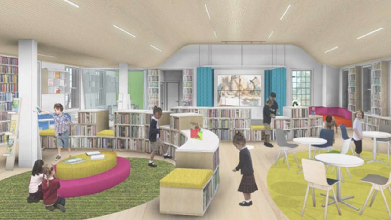 Student Voices Inspire Design of GA's New Library and Learning Commons