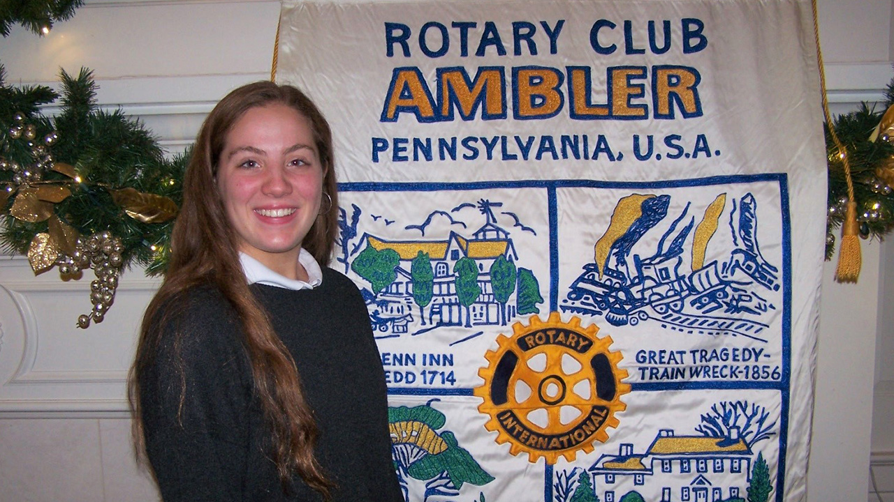 Isabella Venziale '20 Named Ambler Rotary Club Student of the Month
