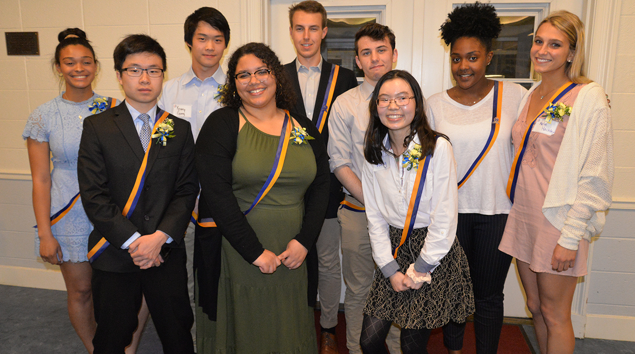 Upper School Students Honored at Modern Language Induction Ceremony