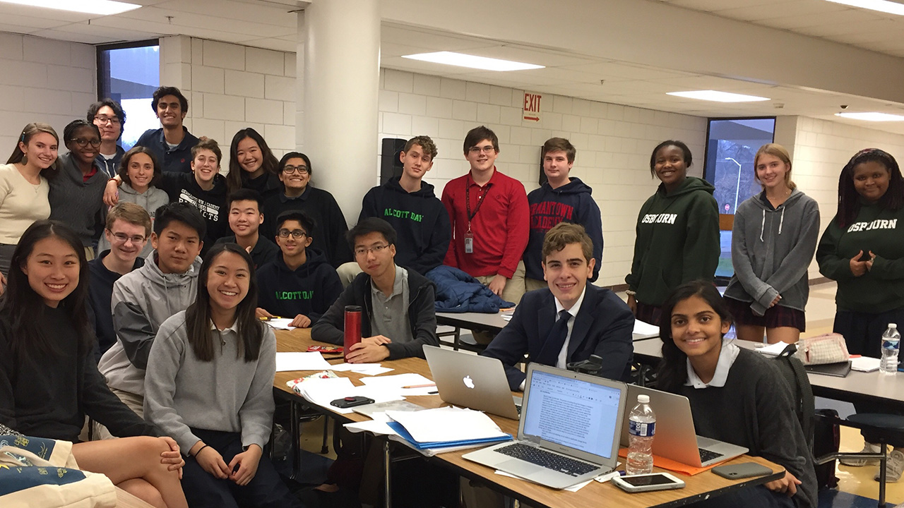 Upper School Debate Team Shines at Local Tournaments