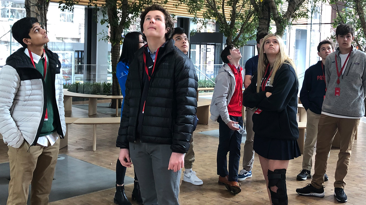 Design for the Future Students Visit Comcast Technology Center