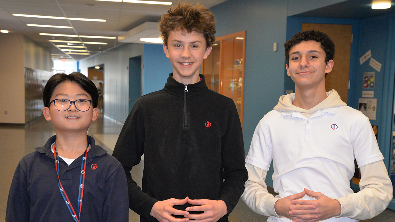 Andrei V. '24 Wins GA Geography Bee