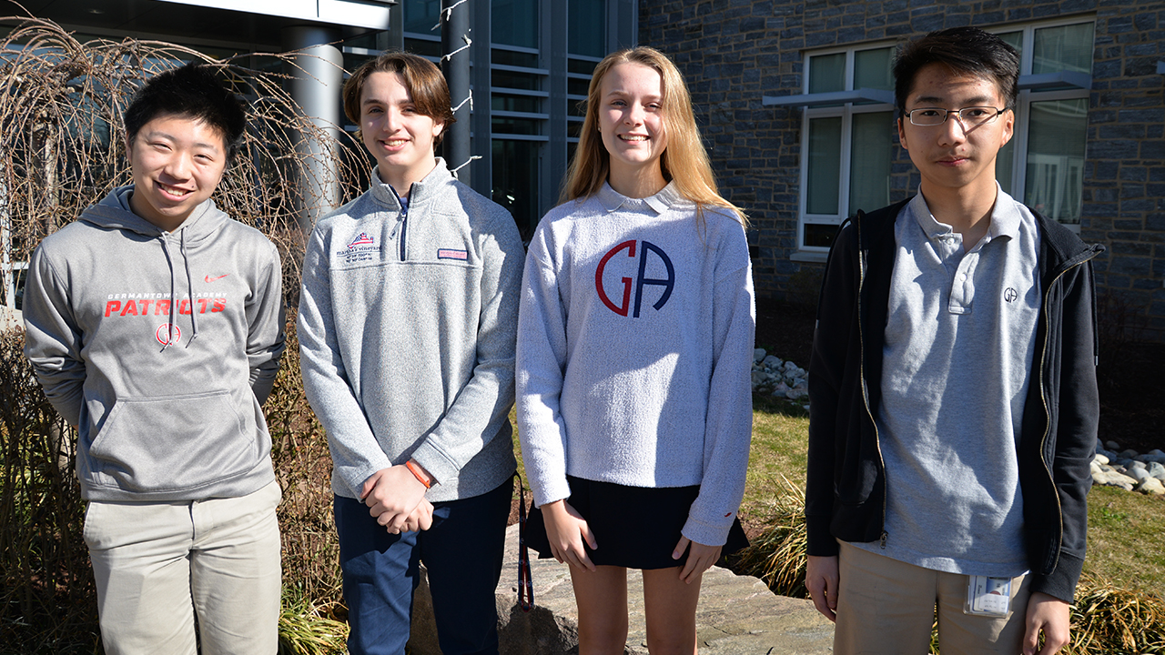 GA Honors Top Scorers of American Mathematics Competitions