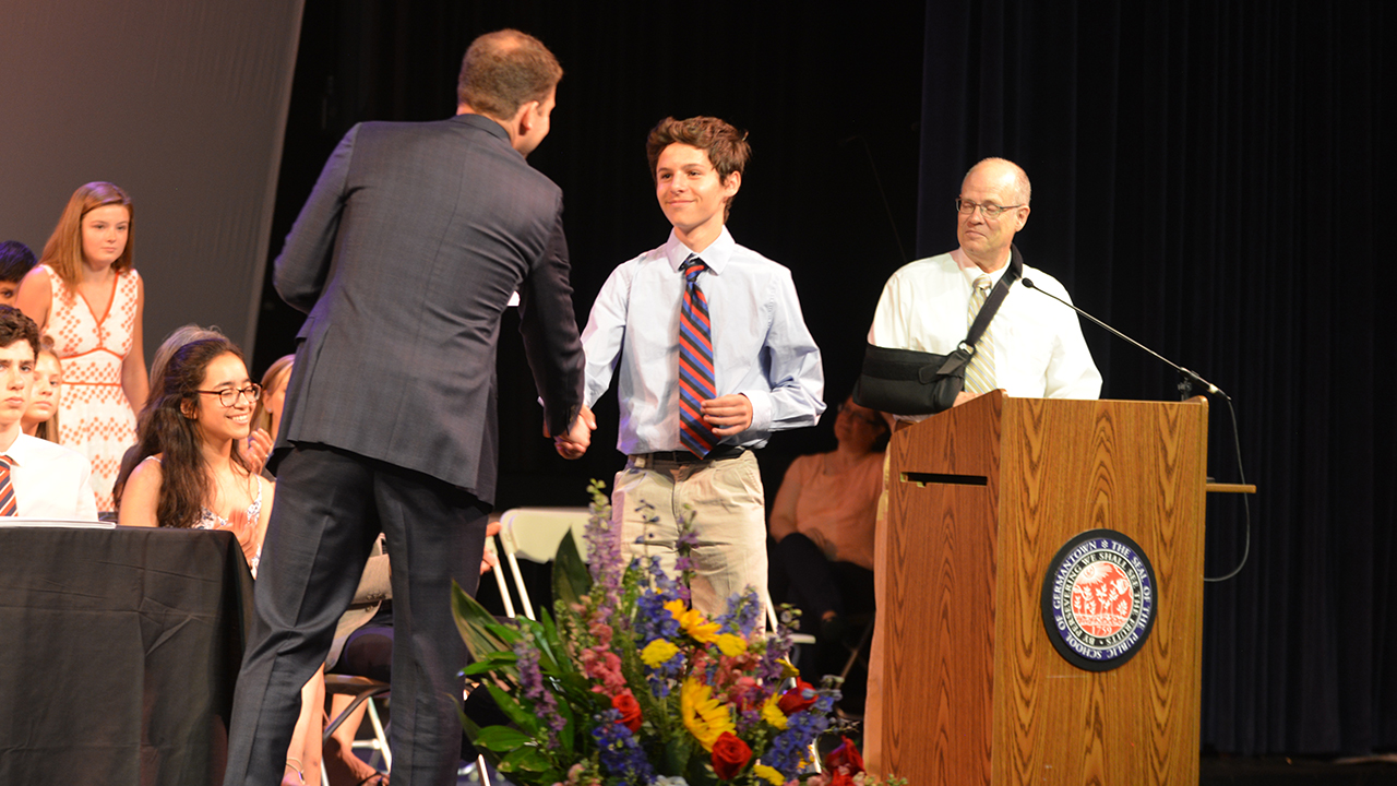 Class of 2023 Remembered at Middle School Final Assembly