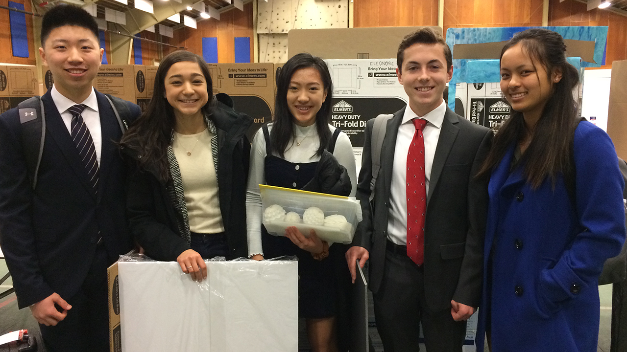 GA Students Win Prizes and Scholarship Money at Delaware Valley Science Fair