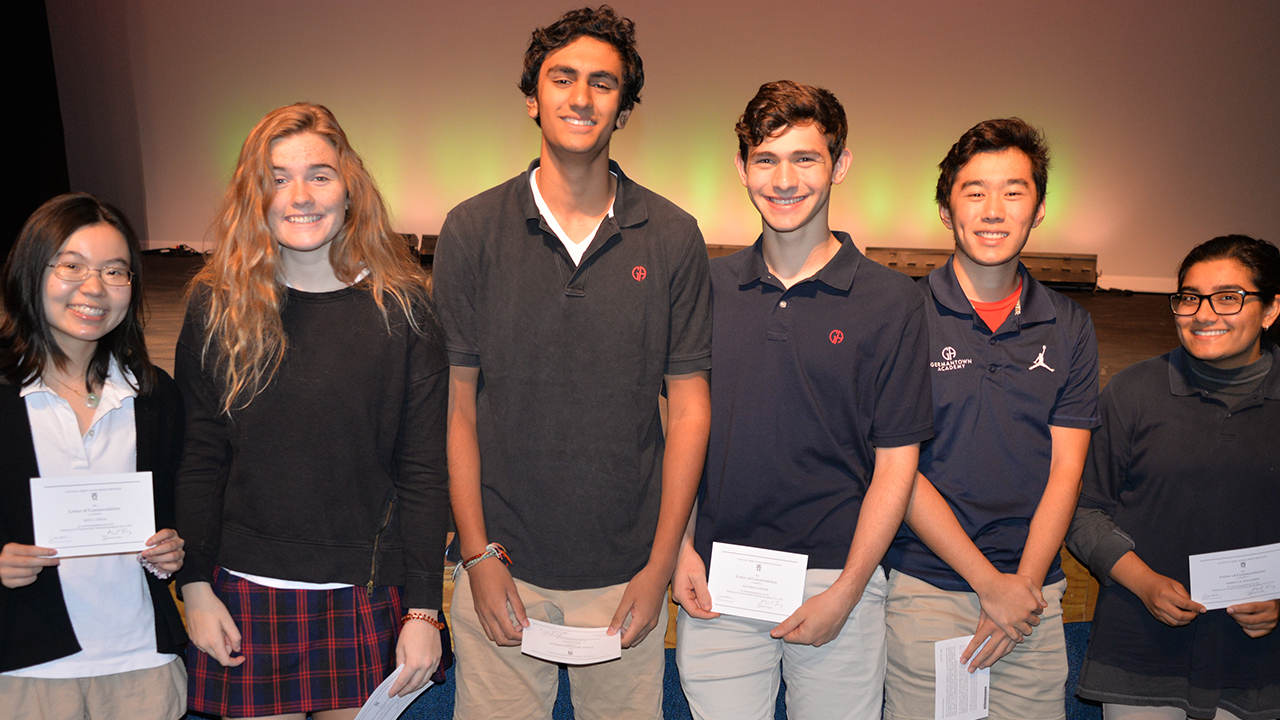 Eleven Seniors Named National Merit Commended Students