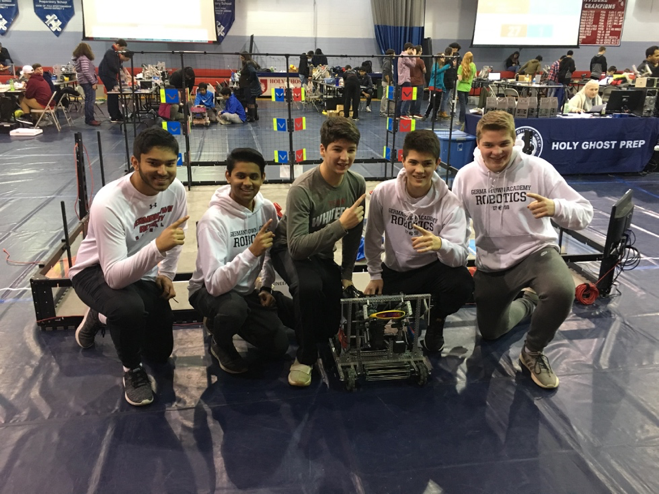 GA VEX Robotics Teams Finishes Second Overall in State Competition