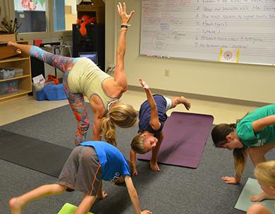 yoga summer camp for kids near philadelphia  germantown